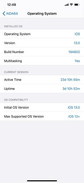 AIDA64苹果手机版 v1.37 iPhone版2