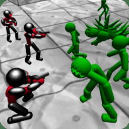 Baticbie火柴人僵尸之战游戏(Battle Simulator Stickman zombie)