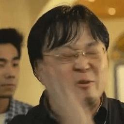 羅永浩打自己臉表情包GIF
