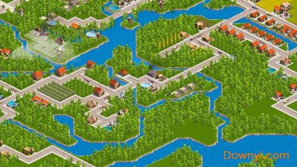 设计城市游戏