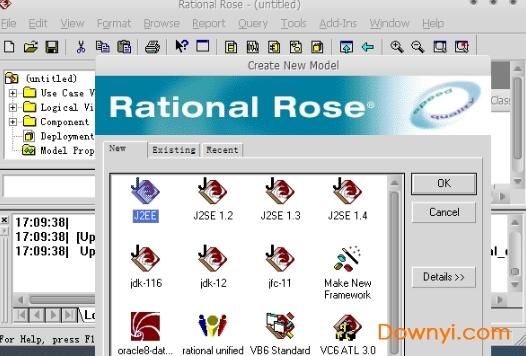 Rational Rose2017中文破解版 免�M注�园� 0