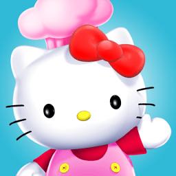 凱蒂貓美食小鎮游戲