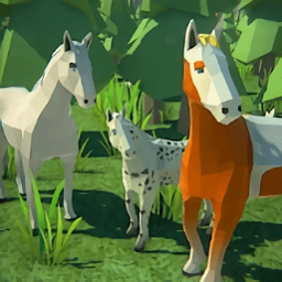 森林马模拟器中文版(Forest Horse Simulator)