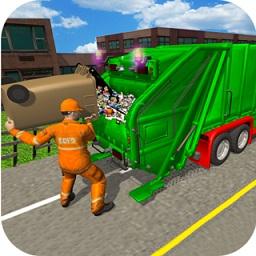 城市垃圾车模拟器手机版