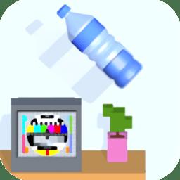 跳一跳瓶子翻转游戏