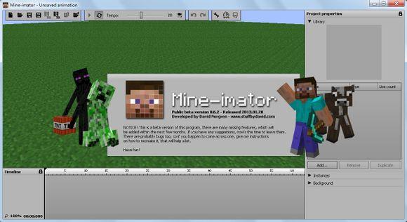 mine imator绿色最新版 v1.2.2 电脑版 1