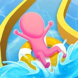 疯狂滑水游乐场小游戏
