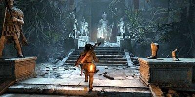 古墓探险游戏