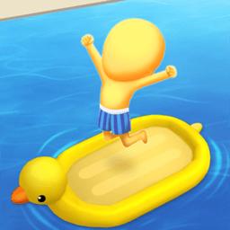 疯狂游泳转圈圈手游