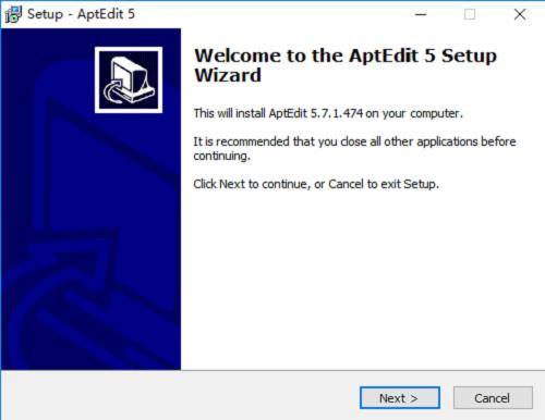 aptedit最新版 v5.7.1 绿色版 0