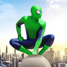 蜘蛛侠英雄远征3(Spider Rope Hero)免费版
