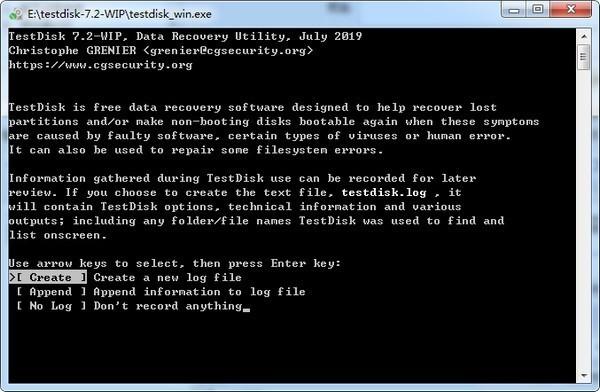 testdisk软件