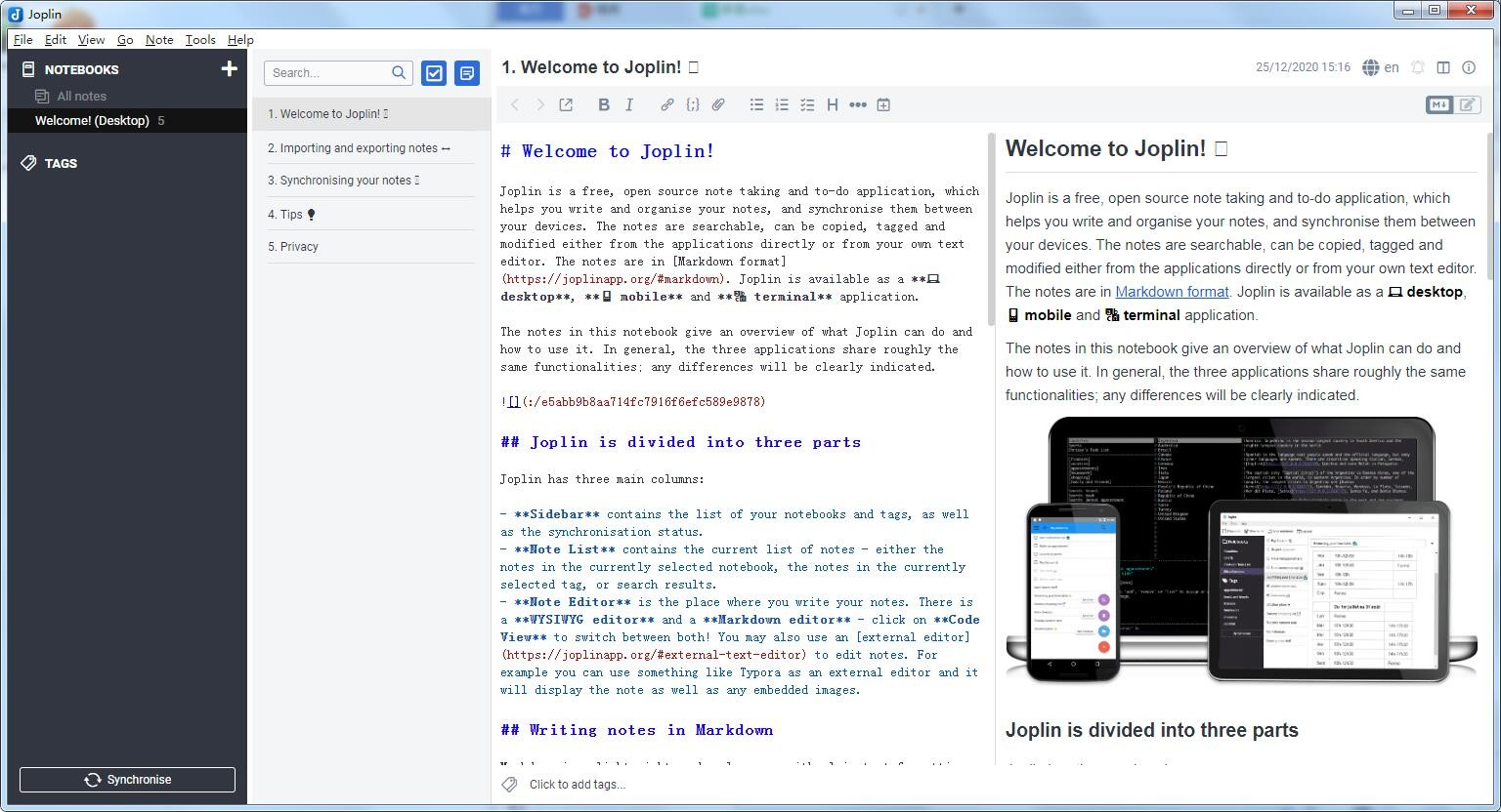 Joplin软件 v2.4.5.0 最新版 0
