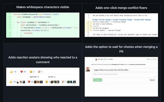 Refined GitHub最新版 v21.9.3 官方版 0