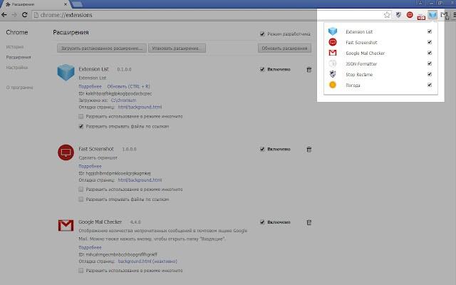 extension list谷歌版