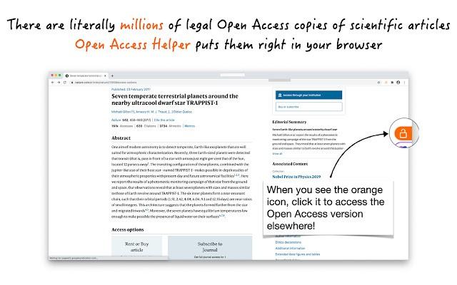 Open Access Helper谷歌版 v2021.5 最新版 0