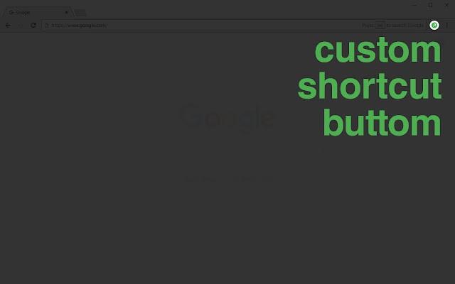 custom shortcut button插件