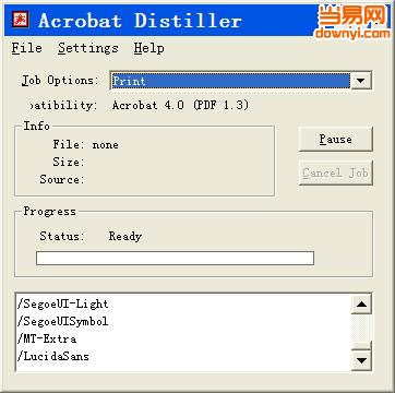 acrobat distiller5