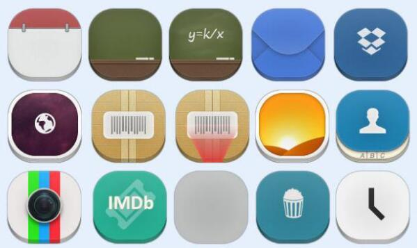 手机app图标素材 v1.