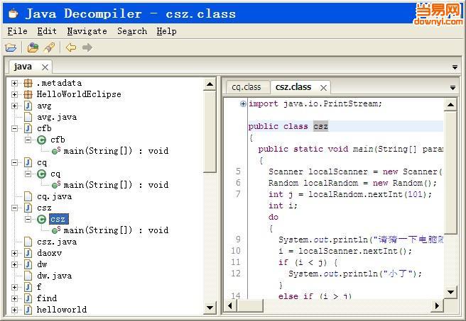 java decompiler