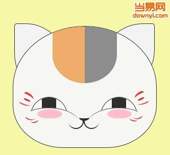 手绘猫头动画(html5)