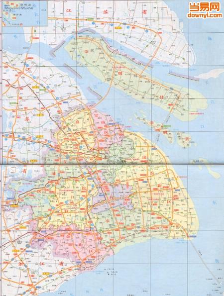 上海高清地图(上海地图全图高清版)下载