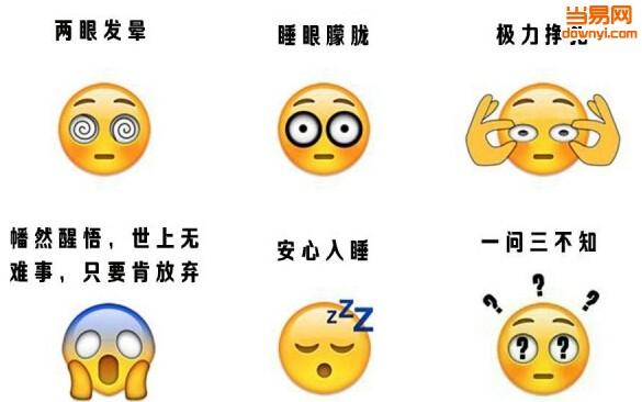 emoji表情包,感觉眼前有千斤重图片